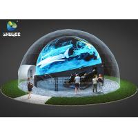 Buy cheap 360 Mmersive Projection Dome Movie Theater With 16 4D Cinema Chairs Built On The from wholesalers