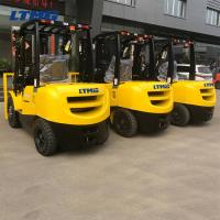 China Side Shifter Counterbalance Forklift Truck  Eco - Friendly With Two 3m Stage Mast on sale
