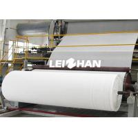 China 50T/D Tissue Paper Making Machine For Toilet Tissue Papers on sale