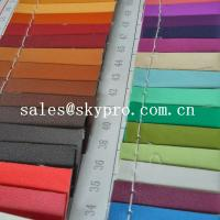 Best 0.8mm sofa Leather high quality black pvc leather 3D printing pu leather fabric wholesale