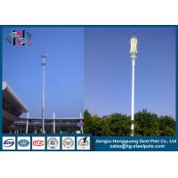 China Customizable Broadcast Transmission Antenna Poles Towers Monopole Tower on sale