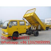 Best ISUZU LHD double row 3ton mini dump truck wholesale