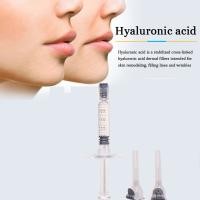 China cross linked sodium hyaluronic acid dermal filler for cosmetic surgery on sale