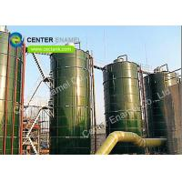 Best 300000 Gallons Glass Lined Steel Industrial Water Tanks With Strong Corrosion Resistance wholesale