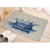 Best Printing Anti-Bacterial Absorbent Non Slip Area Rugs , Non Slip Floor Area Mat Rugs wholesale