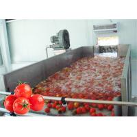 Best Stainless Steel 380V Vegetable Processing Line Tomato Processing Equipment wholesale