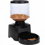 Best Capacity 5.5L Automatic Pet Feeder , Pet Food Dispenser Multifunction Black Color wholesale