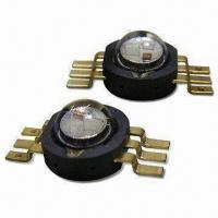 Buy cheap 3W/5V High-power HV LED Lamp with RGB-in-1 Red/Green/Blue and High Brightness from wholesalers