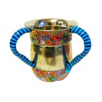 China Custom Religious Judaica Judaism Israel Jewish Hand Washing Cup Two handled Cup Ritual washing in Judaism on sale