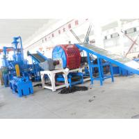 China Waste Tire Shredding Machine / Crumb Rubber Machinery Harden Gears Gearbox on sale