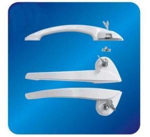Best Custom Arc ABS Freezer Door Handle Hardware for cooler with Lock 260mm wholesale