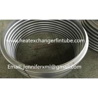 Buy cheap Industrial Single Row Flat Fin Tube Axial Movement Metal Expansion Joint product