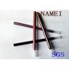 PVC Plastic Long Lasting Eyeliner Pencil Drawn Tube , Gel Eyeliner Pencil 122 * 7.8mm