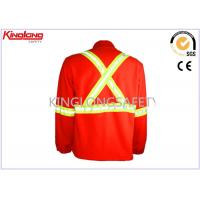 Cheap Reflective Cardigan Hooded Polar Fleece Jacket For Spring / Autumn for sale