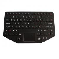 China Industrial Ruggedized Vehicle Keyboard IP65 USB/PS2 Interface With Touchpad Fn Keys on sale