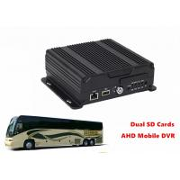 Best Live View Video Dual SD Card Mobile DVR 4G GPS WIFI 4CH AHD 720P Recording wholesale