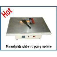 China New type 38*38 40*60cm Manual plate rubber stripping machine for sale for all fabric factory 21 on sale