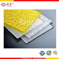 Best polycarbonate diamond embossed sheet Interior PC opening windows and doors designs wholesale