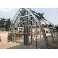 Best Curve Shape Light Steel Frame Construction Building  / Commercial Steel Frame Buildings wholesale