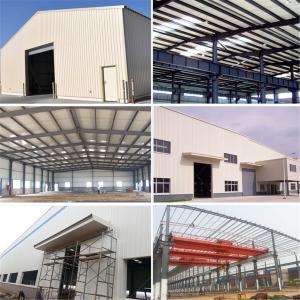 Best Light Gauge Prefabricated Construction Steel Warehouse Building with Nice Design wholesale
