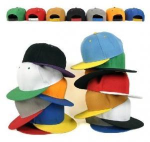 China Adjust Size Flat Visor Baseball Cap on sale