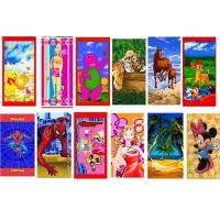 China 100% Cotton Reactive Printed Beach Towel Stocks on sale