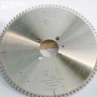 Best 120T Pcd Saw Blades , Diamond Tipped Saw Blade Sandwich Soldering Flake wholesale
