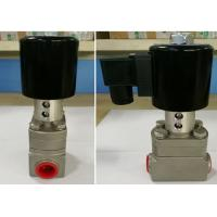 China Low Temperature Rexroth Solenoid Valve Stainless Steel For Cryogenic Equipment on sale