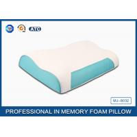 Best Wave Memory Foam Contour Pillow , Orthopedic Sleeping Pillow With Zipper Cover wholesale