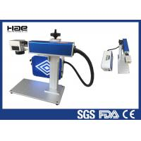 Best Easy Maintenance Fiber Laser Marking Machine For LED Lamp Cup CE Certificated wholesale