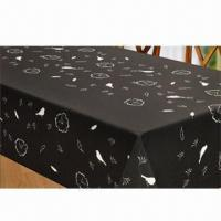 Best 100% Polyester Waterproof Printed Tablecloth wholesale