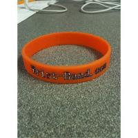 China Silicone wrist bands on sale