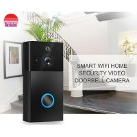 China Smart Home Wifi Door Bell Smartphone View Wireless Battery Wifi Visual Intercom Doorbell Camera on sale