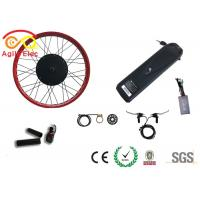 Best Durable Fat Tire Electric Bike Conversion Kit With Axle Front 135mm / Rear 170mm wholesale