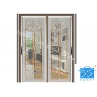 Best Bevel Clear Sliding French Patio Doors , Safety French Glass Sliding Patio Doors wholesale