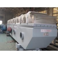 China Ammonium Sulphate Vibrating Fluid Bed Dryer Equipment For Chemical Explosion Proof on sale