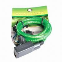 Best Retractable Bicycle Cable Lock with Large Square Head wholesale