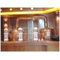 Best 500L Red Copper Brewing Equipment Home Beer Brewing Kit 1 Year Warranty wholesale