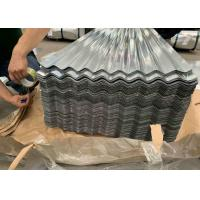 China AS 1397 G550 (HRB≥85) , ASTM A653 Industrial Corrugated Roofing Sheets on sale