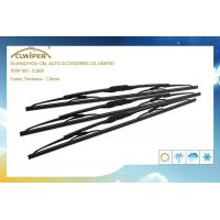 China Stainless Steel Iron Flat Wiper Blades , J - HOOK Windshield Wiper Arm Replacement  on sale