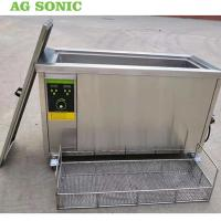 Best Engine Cylinder Ultrasonic Cleaning Equipment 80l Metal Parts Degreasing Machine wholesale