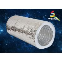Best HVAC System Aluminum Foil / Fiberglass Flexible Insulated Duct Customized wholesale