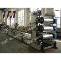 Best 2000kg Plastic Sheet Extrusion Line , PET Sheet Extrusion Line Easy Operation wholesale