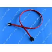 Buy cheap HDD SATA III 6.0 Gbps Female To Female SATA Data Cable 7 Pin With Locking Latch from wholesalers
