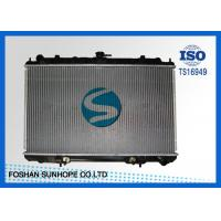 Best Inlet / Outlet 35mm Nissan Car Radiator , Nissan Maxima Radiator 713*47.5mm Tank wholesale