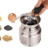 Buy cheap Manual ss burr coffee mills from wholesalers