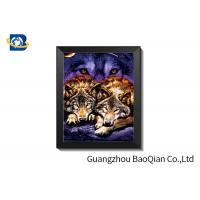 Best Eco Friendly PET 3D Flip Picture , Customized High Definition Lenticular Movie Poster wholesale