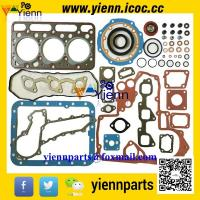 Best Kubota D1463LN D1463NND1463 engine parts overhual rebuild kit piston+ piston ring+full gasket set with head gasket wholesale