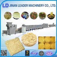China Instant Noodles Production Line Fried noodle making equipments on sale