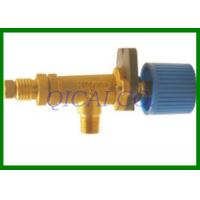 China Customized LPG Gas Accessories , Hose Connecting Brass Gas BBQ Grill Valves on sale